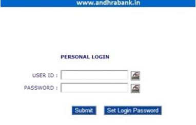 Andhra Bank Online Login