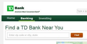 td bank locations