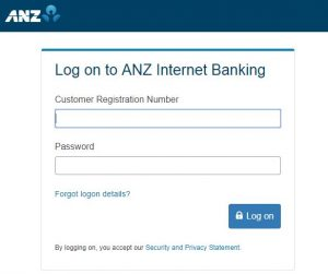 ANZ Bank Online Login