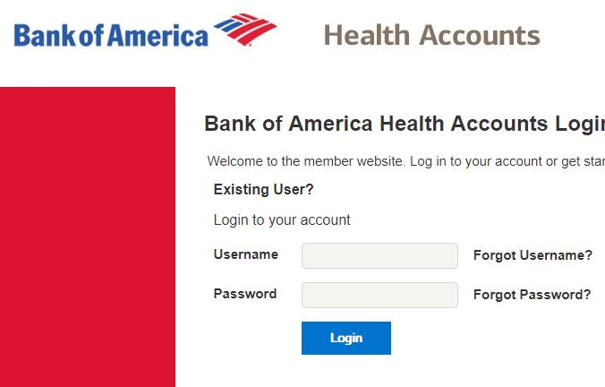 Bank of America HSA Login