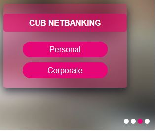 city union bank net banking first time login
