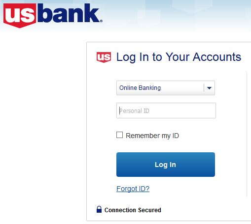 US Bank personal banking online login