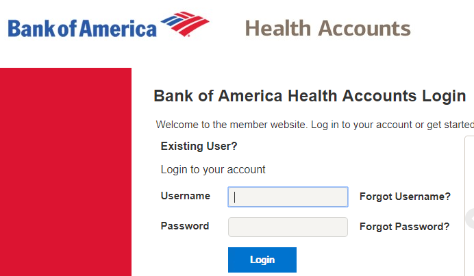 Bank of America benefits Login