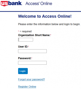 US Bank Corporate Card Login And Reset