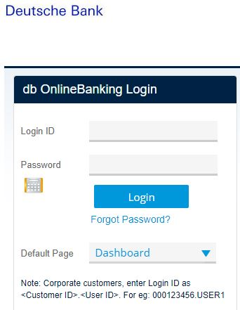 How to Login to Deutsche Bank