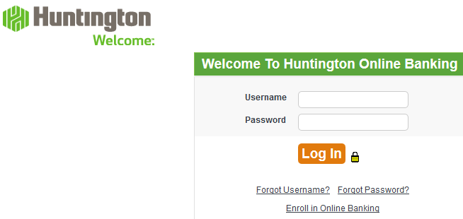Huntington Bank Online login