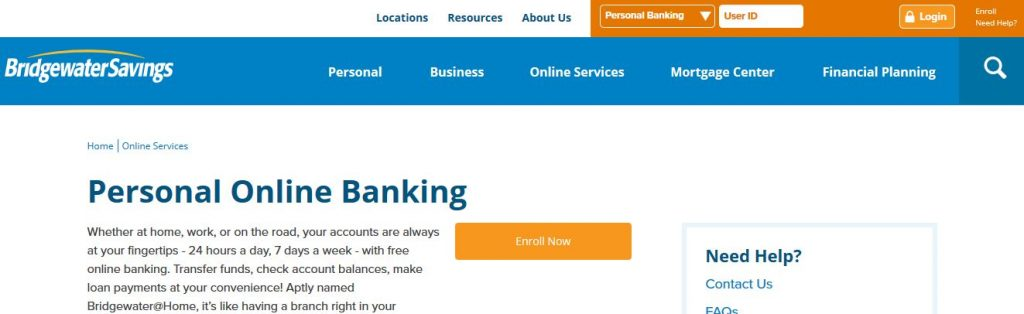 Bridgewater Bank Online Banking Login