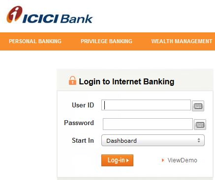 ICICI Bank NRI Login