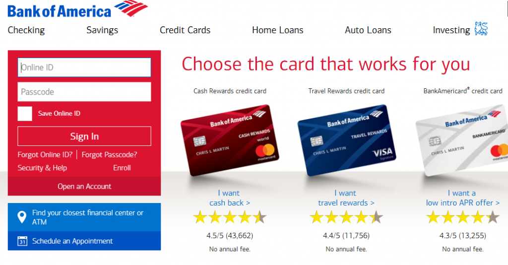 Bank Of America Bill Pay Steps
