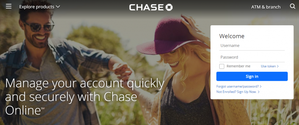 Chase Bank Credit Card Login